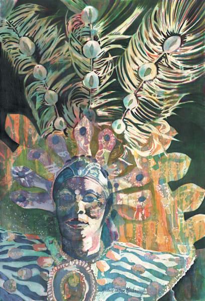 6. Troupe Hostess Kali   Crucian Carnival Series Vi Art   Michele Tabor Kimbrough