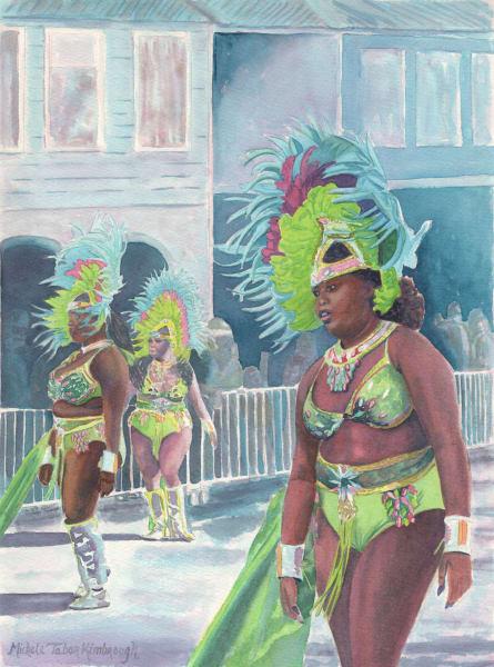 14. Crucian Carnival Series Xiv Art   Michele Tabor Kimbrough