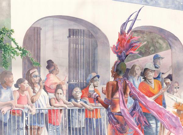 24. Crucian Carnival Series Xxiv Art | Michele Tabor Kimbrough