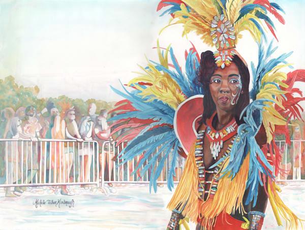 28. Crucian Carnival Series Xxviii Art | Michele Tabor Kimbrough
