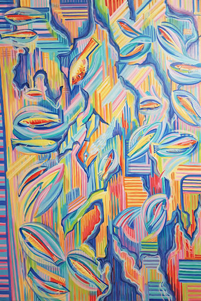 Follow My Fish / Invitation To Happiness Art | Art Impact® International Inc