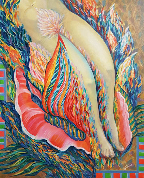 Summer Night Dream / Every Girl Knows It Art | Art Impact® International Inc