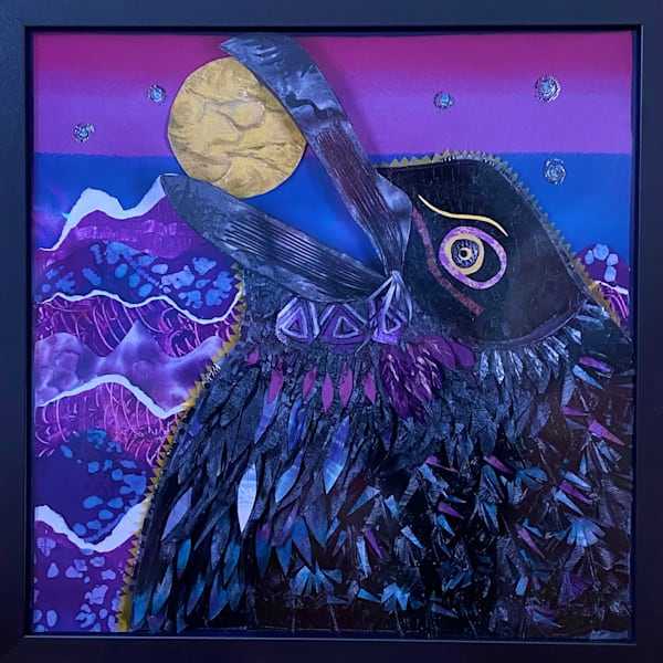 Poe The Raven Art | Luanne C Brown