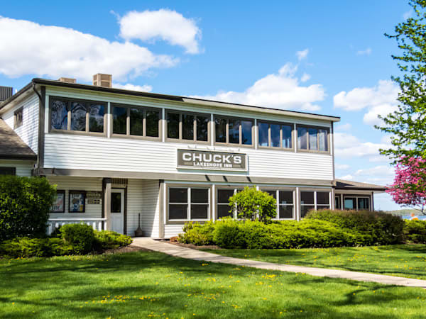 Chucks Lakeshore Inn Photography Art   Lake LIfe Images
