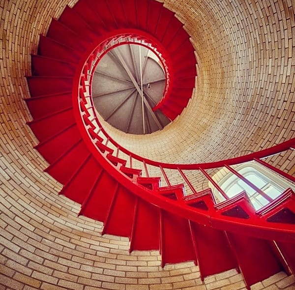 Inside Nauset Light   Eastham, Ma Photography Art | The Colors of Chatham
