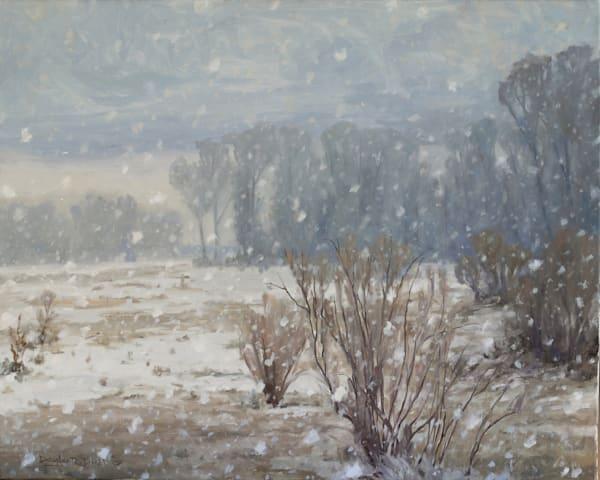 Winters Hush Art   Diehl Fine Art