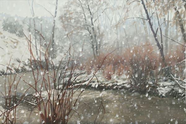 Winter Comes Again Art   Diehl Fine Art