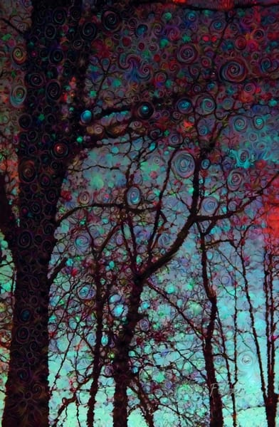 Red Tree Dances Art | Jacob Folger Artist