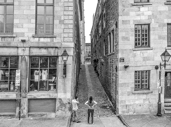 Street Scene, Montreal Photography Art   Nick Levitin Photography