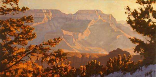 Sunrise On The Rim Art | Diehl Fine Art