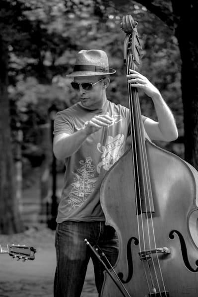 Ny Bass Player Photography Art   Nick Levitin Photography