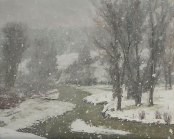 Snowy Stillness Art | Diehl Fine Art