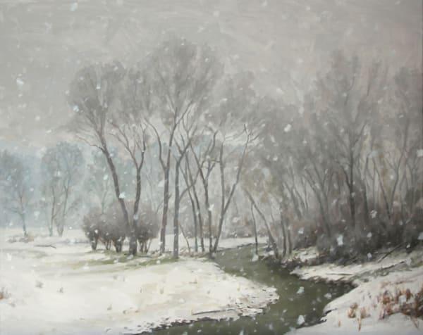 Snows Quite Embrace Art | Diehl Fine Art