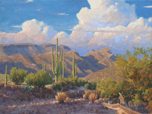 Sentinels Of The Desert Art | Diehl Fine Art