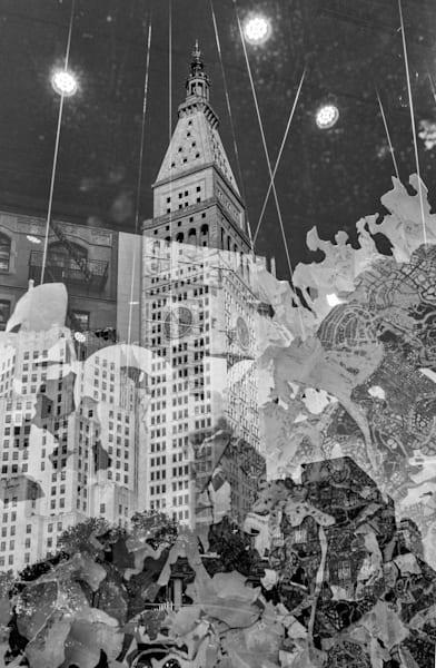 Clock Tower Reflection Photography Art | Alina Marin-Bliach Photography/alinabstudios LLC