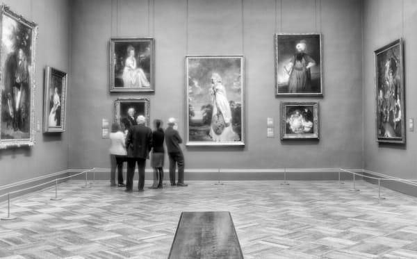 Museumgoers  Photography Art | Alina Marin-Bliach Photography/alinabstudios LLC