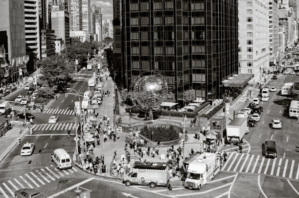 Columbus Circle  Photography Art | Alina Marin-Bliach Photography/alinabstudios LLC