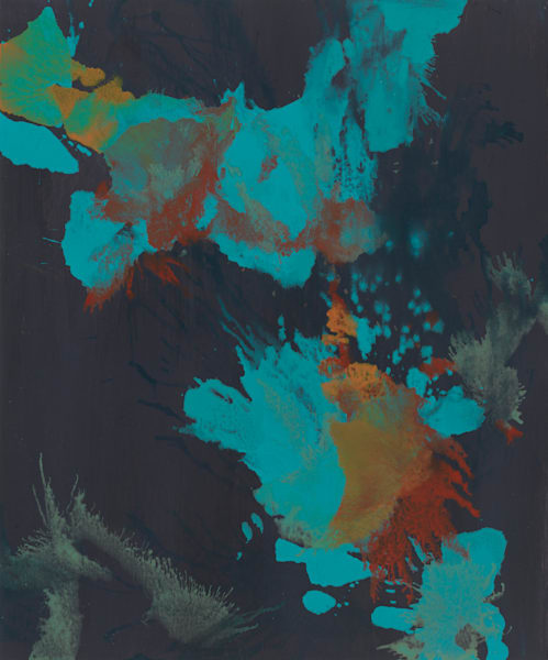 Brunnera 01 Art | Usha Shukla Art