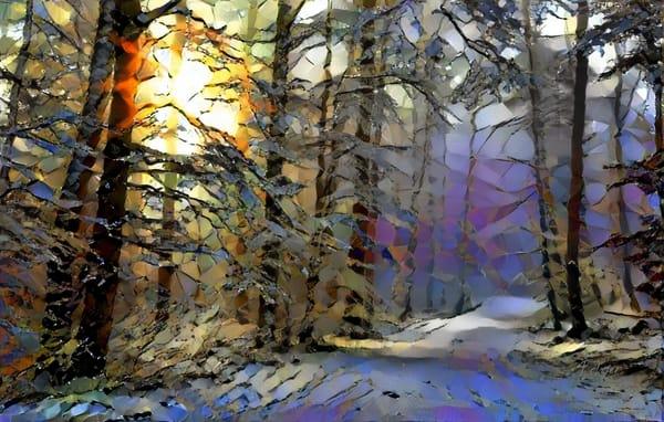 First Sun Forest Art | Jacob Folger Artist