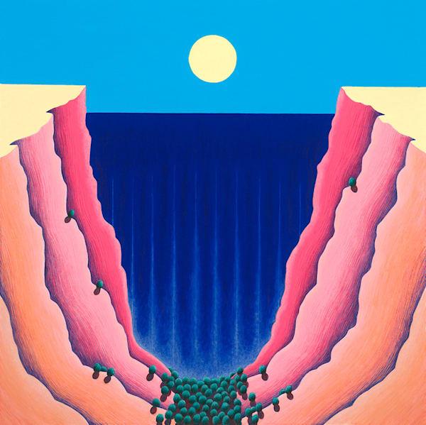 Watermelon Canyon Art   Fine Art New Mexico