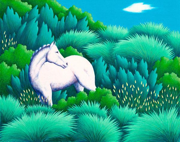White Horse Art   Fine Art New Mexico