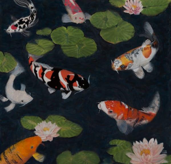 Koi Artwork by Nancy Conant