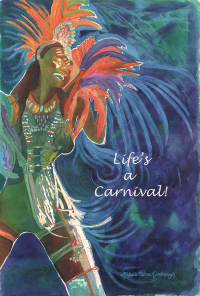 Life S A Carnival   Quote S Art   Michele Tabor Kimbrough