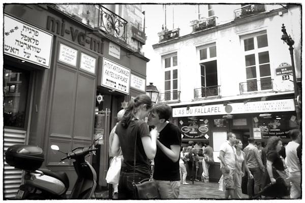 Paris, A Couple Photography Art   Nick Levitin Photography