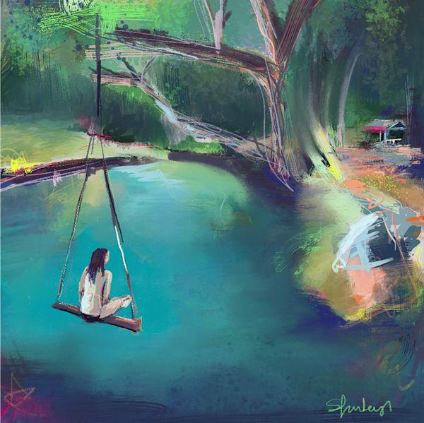 Swing In Paradise Art | Atelier Steph Fonteyn