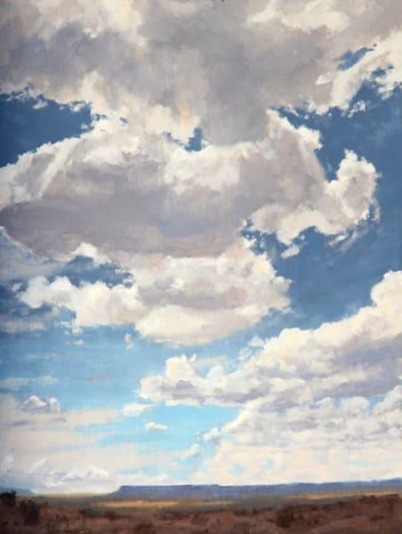 Clouds Above The Mesas Art | Diehl Fine Art