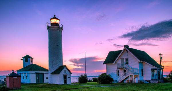 Tibbets Point Lighthouse Sunset - New York fine-art photography prints