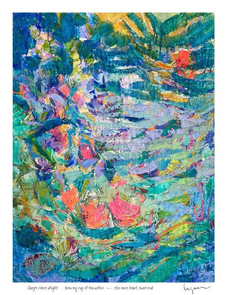 Stir Mine Heart Haiku Print Art | Dorothy Fagan Joy's Garden