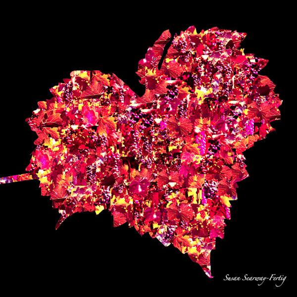 Heart Vines Ii Art | Susan Searway Art & Design