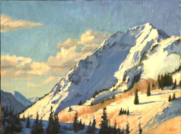 Snowy Mountain Art | Diehl Fine Art