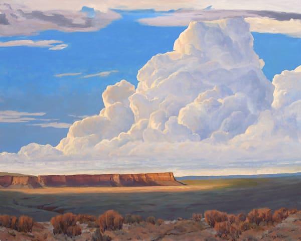 High Desert Monsoon Art | Diehl Fine Art