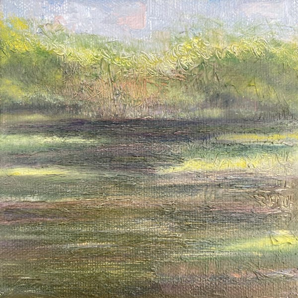 On The Water At Lake Odessa Art   Marie Stephens Art
