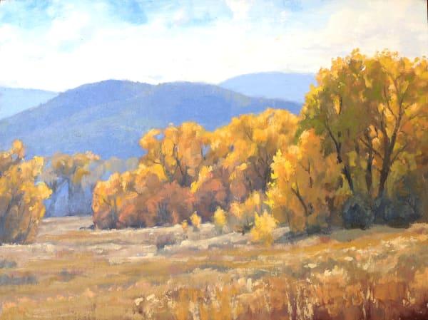 Autumn Field Art | Diehl Fine Art