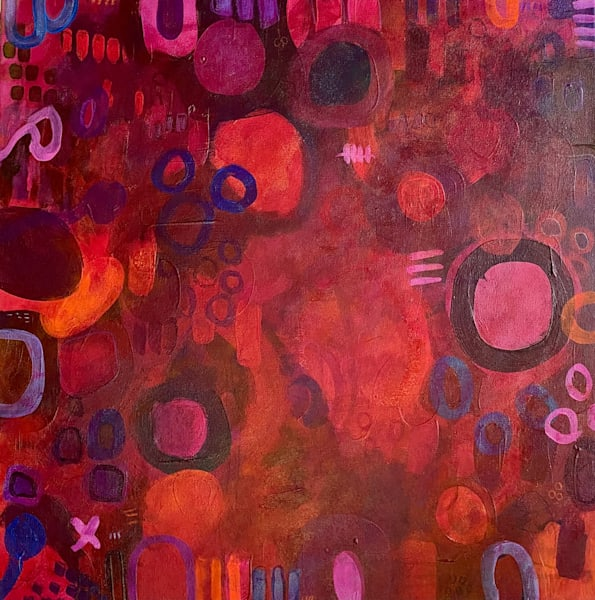 Raspberry Beret Art | Abstraction Gallery by Brenden