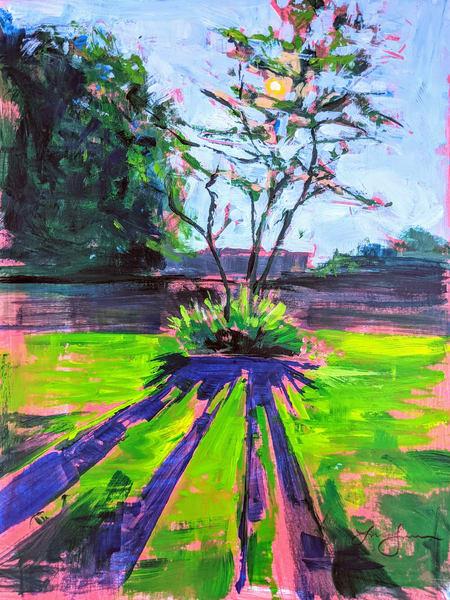 Memory In Pink  Art | Lindsey Davis Johnson Fine Art