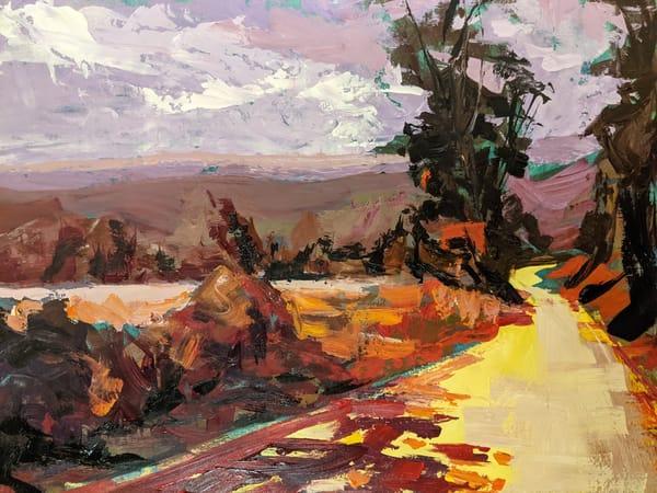 Warm Dirt Road In San Gimignano, Italy   Art | Lindsey Davis Johnson Fine Art