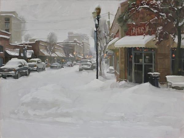 Blanket Of Snow Art | Diehl Fine Art