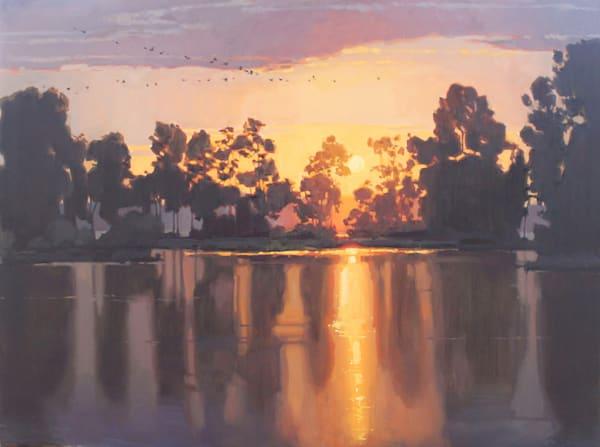 Glow Of An Evening Art   Diehl Fine Art