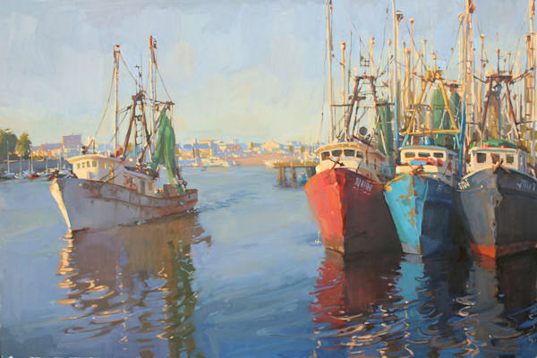 Into The Harbor Art | Diehl Fine Art