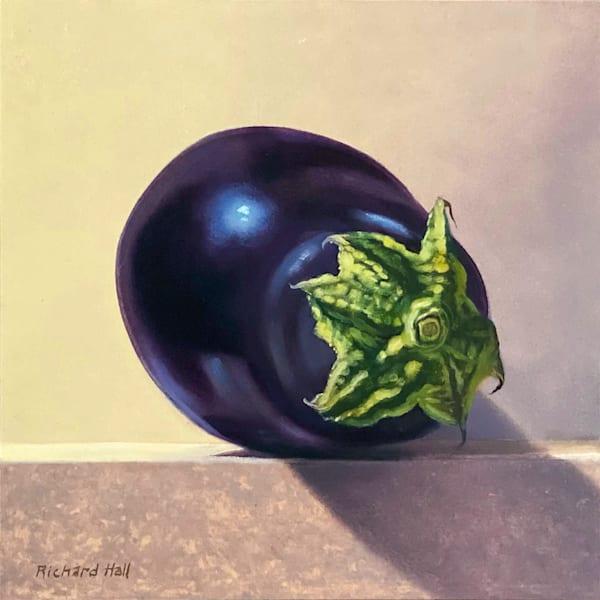 Eggplant Art | Richard Hall Fine Art