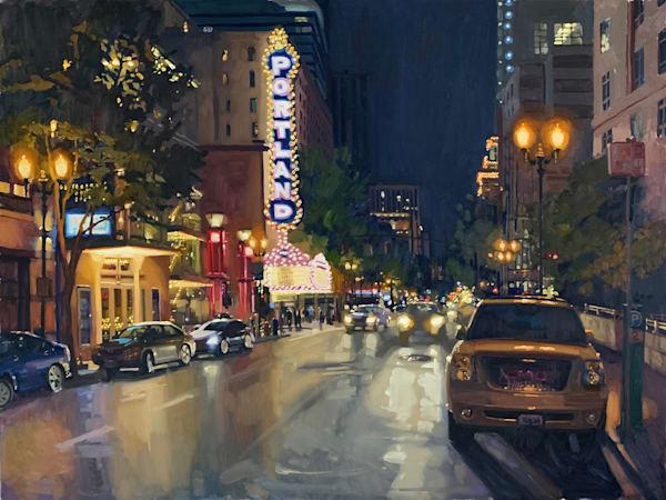 Nightlights Art | Diehl Fine Art