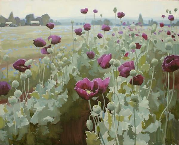 Poppin Poppies Art   Diehl Fine Art