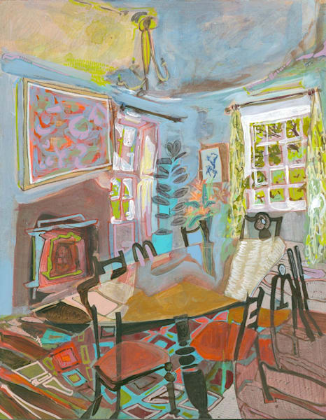 St. Ann's Bank House No. 201 Art   Erika Stearly, American Artist
