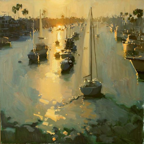 Return At Sunset Art   Diehl Fine Art