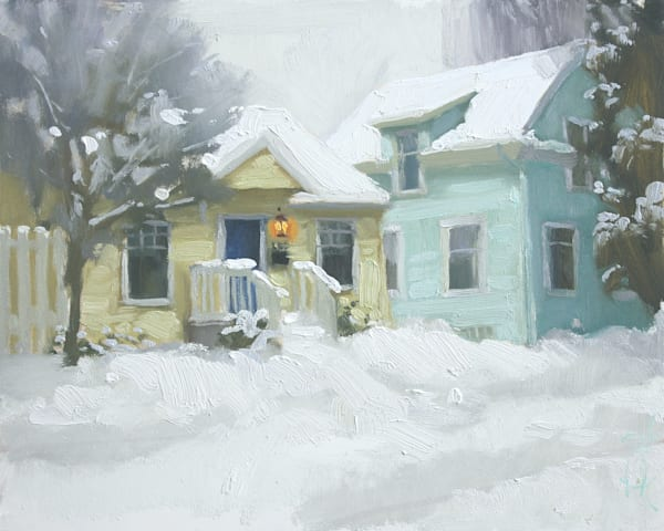 Snowed In Art   Diehl Fine Art