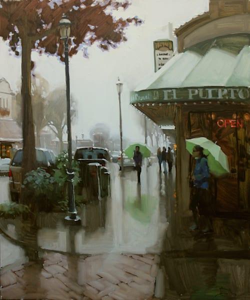 Under My Umbrella Art | Diehl Fine Art